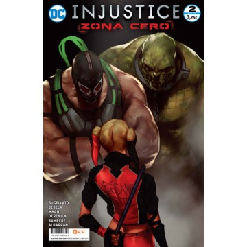 INJUSTICE: ZONA CERO  02 (de 6)