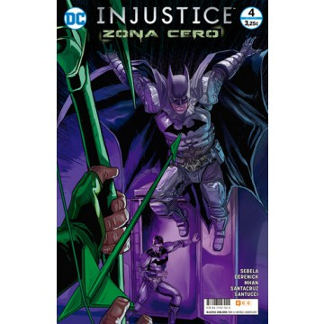 INJUSTICE: ZONA CERO  04 (de 6)