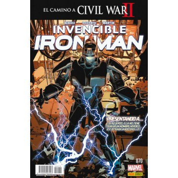 INVENCIBLE IRON MAN 70