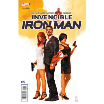 INVENCIBLE IRON MAN 72
