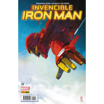INVENCIBLE IRON MAN 74