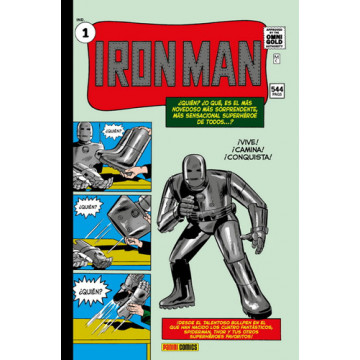 IRON MAN 01 (Marvel Gold Omnibus)