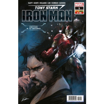 TONY STARK: IRON MAN 01 (Nº 100)