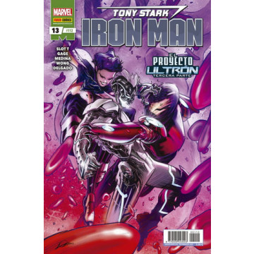 TONY STARK: IRON MAN 13 (Nº 112)