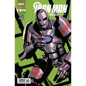 IRON MAN 2020 Nº02 (Nº 115)