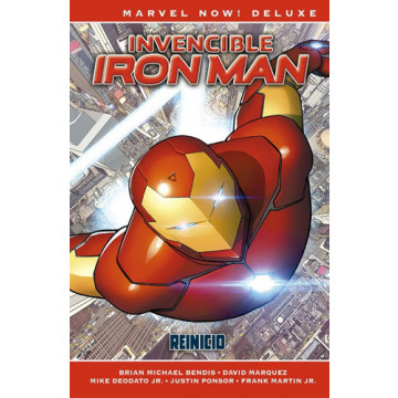 INVENCIBLE IRON MAN 01: REINICIO (Marvel Now! Deluxe)