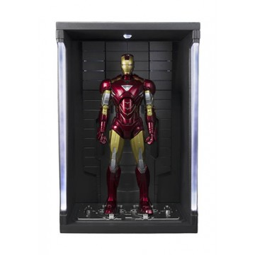 FIGURA IRON MAN MK VI + SET HALL DE ARMADURAS (IRON MAN) - SH FIGUARTS