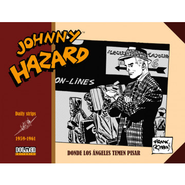 JOHNNY HAZARD 1959-1961