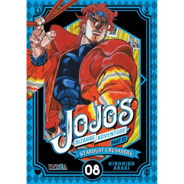 JOJO'S BIZARRE ADVENTURE. PARTE 3: CRUSADERS 08