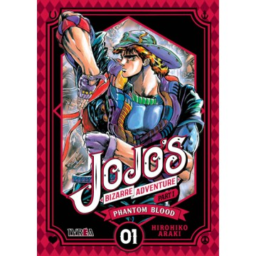 JOJO'S BIZARRE ADVENTURE. PARTE 1: PHANTOM BLOOD 01
