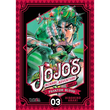 JOJO'S BIZARRE ADVENTURE. PARTE 1: PHANTOM BLOOD 03