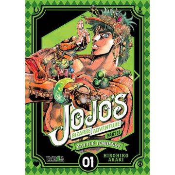 JOJO'S BIZARRE ADVENTURE. PARTE 2: BATTLE TENDENCY 01