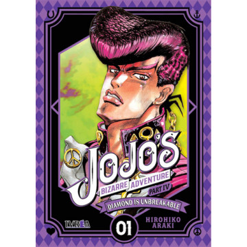 JOJO'S BIZARRE ADVENTURE. PARTE 4: DIAMOND IS UNBREAKABLE 01