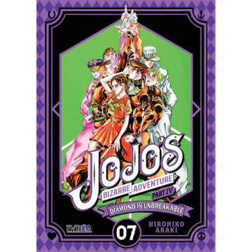 JOJO'S BIZARRE ADVENTURE. PARTE 4: DIAMOND IS UNBREAKABLE 07