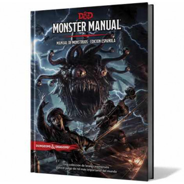 JUEGO DE ROL: MONSTER MANUAL DUNGEONS & DRAGONS  - MANUAL DE MONSTRUOS EDICION ESPAÑOLA