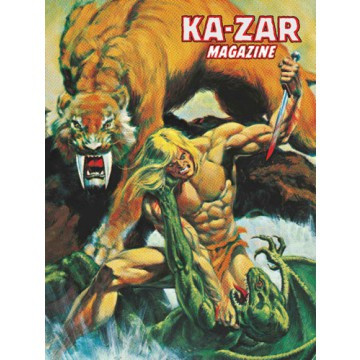 KA-ZAR MAGAZINE (Marvel Limited Edition)