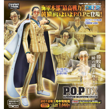 FIGURA KIZARU BORSALINO VERSION DX LIMITED (ONE PIECE) - PORTRAIT OF PIRATES (P.O.P)