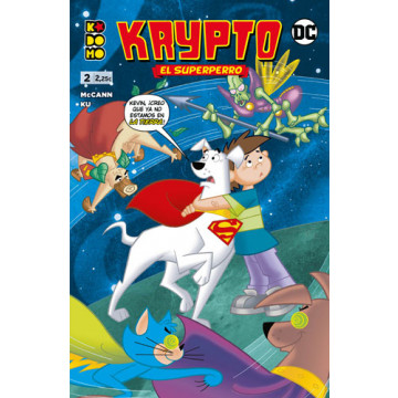 KRYPTO EL SUPERPERRO 02 (de 06)