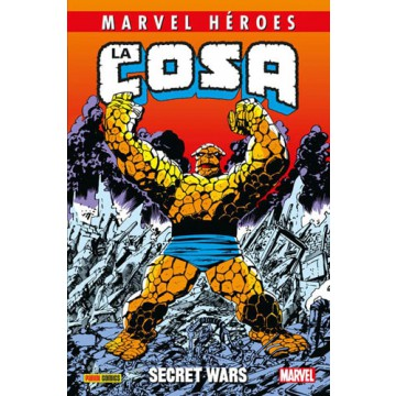 MARVEL HÉROES 76: LA COSA. SECRET WARS