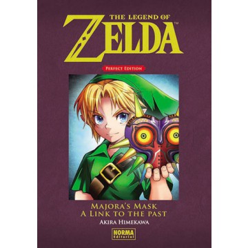 THE LEGEND OF ZELDA. PERFECT EDITION 02:  MAJORA'S MASK Y A LINK TO THE PAST