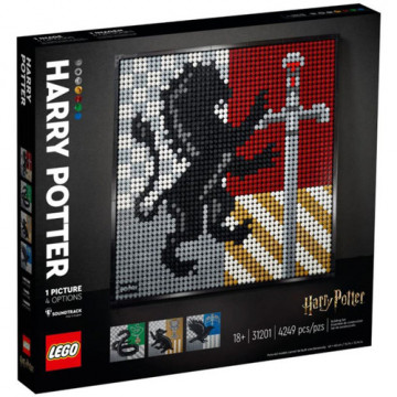 LEGO ESCUDO HOGWARTS (HARRY POTTER)