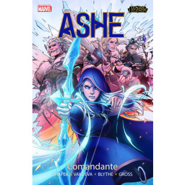 LEAGUE OF LEGENDS: ASHE. COMANDANTE