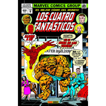 LOS CUATRO FANTÁSTICOS 09: CUANDO LOS TITANES CHOCAN (Marvel Gold Omnibus)