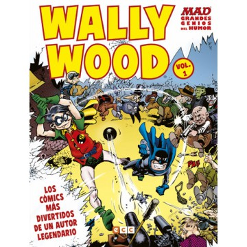 MAD GRANDES GENIOS DEL HUMOR: WALLY WOOD VOL. 01 (DE 2)
