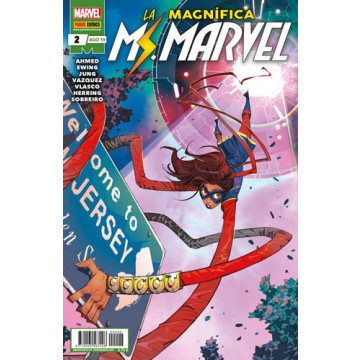LA MAGNÍFICA MS. MARVEL 02 (Serie mensual)