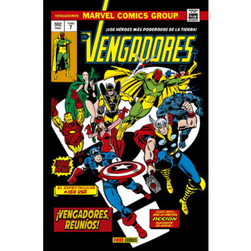 LOS VENGADORES 07: ¡VENGADORES, REUNÍOS! (Marvel Gold Omnibus)