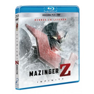 BLURAY MAZINGER Z: INFINITY (COMBO BLURAY + DVD)
