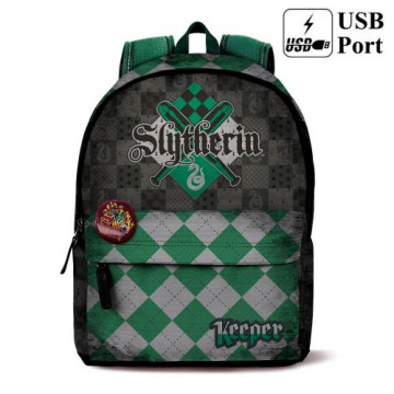 MOCHILA SLYTHERIN (HARRY POTTER) - QUIDDITCH