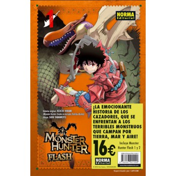MONSTER HUNTER FLASH! 01+02 (Pack Iniciación)