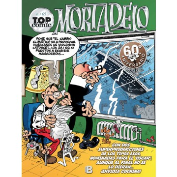 TOP CÓMIC MORTADELO 65: ¡EL CAPO SE ESCAPA!