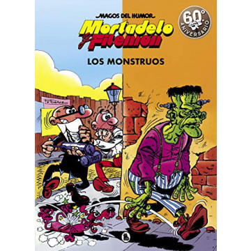 MAGOS DEL HUMOR 22: LOS MONSTRUOS (MORTADELO Y FILEMÓN)