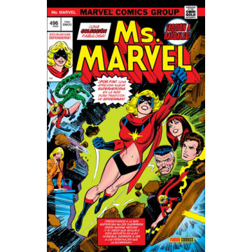 MS. MARVEL (Marvel Gold Omnibus)