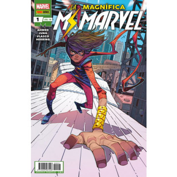 LA MAGNÍFICA MS. MARVEL 01 (Serie mensual)
