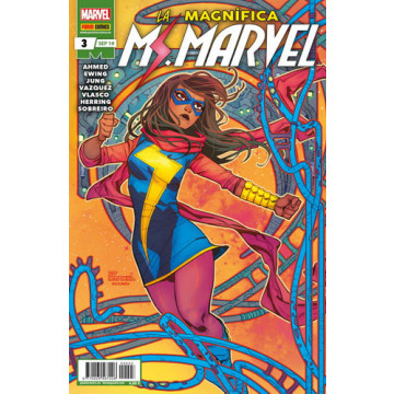 LA MAGNÍFICA MS. MARVEL 03 (Serie mensual)