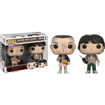 FIGURA POP! ELEVEN (ONCE) Y MIKE (STRANGER THINGS)