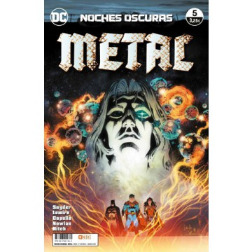 NOCHES OSCURAS: METAL 05