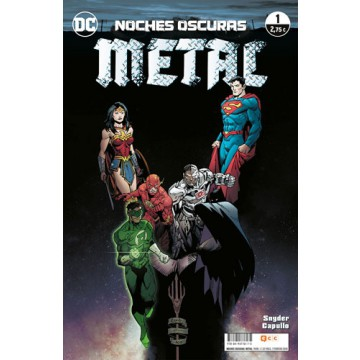 NOCHES OSCURAS: METAL 01