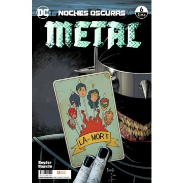 NOCHES OSCURAS: METAL 06