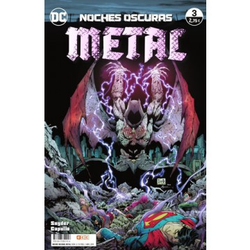 NOCHES OSCURAS: METAL 03