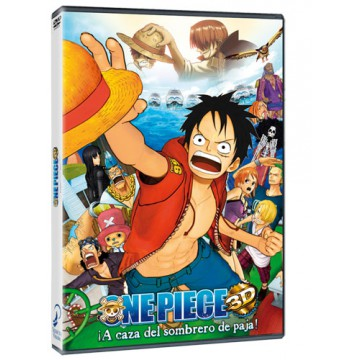 DVD ONE PIECE TV SPECIAL 3D