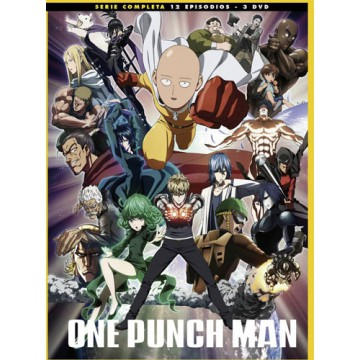 DVD ONE PUNCH MAN. TEMPORADA 1