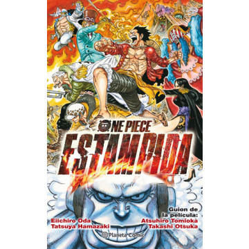 ONE PIECE: ESTAMPIDA (Novela)