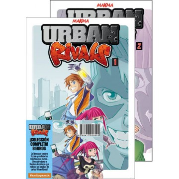 PACK URBAN RIVALS 01+02 (Completa)