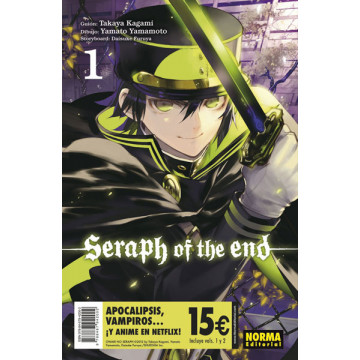 SERAPH OF THE END 01+02 (Pack Iniciación)