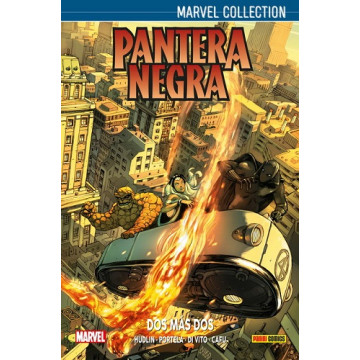 PANTERA NEGRA DE HUDLIN 03: DOS MÁS DOS (Marvel collection)