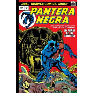 PANTERA NEGRA 01 (Marvel gold Omnibus)